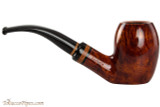 Lorenzetti Constantine 27 Tobacco Pipe - Bent Egg Smooth Right Side