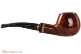 Lorenzetti Constantine 29 Tobacco Pipe - Bent Apple Smooth Right Side