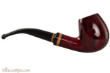 Lorenzetti Julius Caesar 24 Tobacco Pipe - Bent Billiard Smooth Right Side