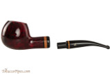 Lorenzetti Julius Caesar 29 Tobacco Pipe - Bent Apple Smooth Apart