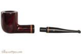 Lorenzetti Julius Caesar 03 Tobacco Pipe - Billiard Smooth Apart