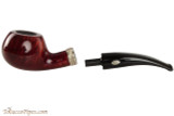 Brebbia MPB Sailing 601 Amaranto Tobacco Pipe - Author Smooth Apart