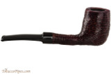 Brebbia Lido Black 100 Tobacco Pipe - Billiard Rustic Right Side