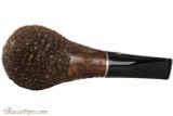 Brebbia PIPA 70 Rocciata Noce Tobacco Pipe - Rustic Bottom