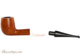 Vauen Curve 133 Light Tobacco Pipe - Billiard Smooth Apart