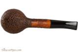Vauen Curve 431 Brown Tobacco Pipe - Bent Apple Sandblast Bottom