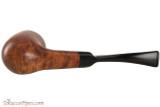 Capri Gozzo 23 Tobacco Pipe - Bent Billiard Smooth Bottom