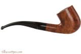 Capri Gozzo 23 Tobacco Pipe - Bent Billiard Smooth Right Side