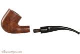 Capri Gozzo 23 Tobacco Pipe - Bent Billiard Smooth Apart