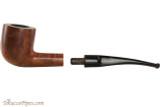 Capri Gozzo 54 Tobacco Pipe - Bent Pot Smooth Apart