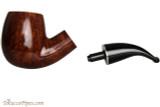 Savinelli La Corta 616 C Smooth Tobacco Pipe - Bent Billiard Apart