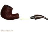 Savinelli Mega 616 Brownblast Tobacco Pipe - Bent Billiard Apart