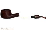 Savinelli Mega 315 Brownblast Tobacco Pipe - Bent Pot Apart