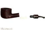 Savinelli Mega 121 Brownblast Tobacco Pipe - Bent Pot Apart