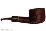 Savinelli Mega 121 Brownblast Tobacco Pipe - Bent Pot Right Side