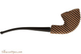 Nording Hunter Carved Zebra Smooth Tobacco Pipe - TP5968 Right Side