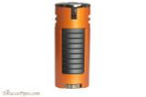 Xikar HP4 Quad Cigar Lighter - Orange Back