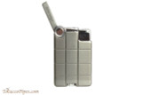 Xikar EX Single Pipe Lighter - Gunmetal Open