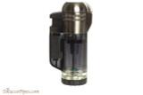 Xikar Tech Double Cigar Lighter - Black Back
