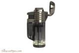 Xikar Tech Quad Cigar Lighter - Black Open