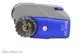 Xikar Executive II Single Cigar Lighter - Blue Bottom