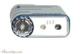 Xikar Linea Cigar Lighter - Blue Bottom