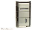 Xikar Allume Single Flame Cigar Lighter - Gunmetal Back