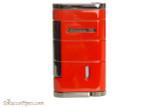 Xikar Allume Single Flame Cigar Lighter - Red Back