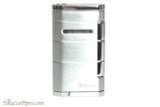 Xikar Allume Single Flame Cigar Lighter - Silver