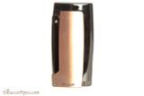 Xikar Pulsar Triple Cigar Lighter - Bronze and Gold Back