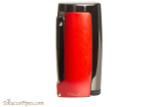Xikar Pulsar Triple Cigar Lighter - Red Right Side