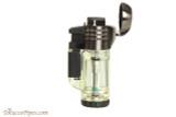 Xikar Tech Triple Cigar Lighter - Clear Open