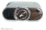 Xikar Allume Triple Tabletop Cigar Lighter - Silver Bottom