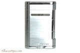 Xikar Allume Triple Tabletop Cigar Lighter - Silver