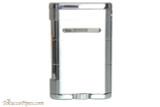 Xikar Allume Triple Tabletop Cigar Lighter - Silver Back