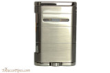 Xikar Allume Triple Tabletop Cigar Lighter - Grey Back
