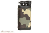 IM Corona Old Boy Black and Camo Leather Pipe Lighter Right Side