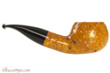 Molina Moon 100 Rustic Tobacco Pipe - Bent Apple Right Side