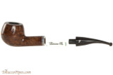Peterson Dublin Filter 408 Tobacco Pipe - Fishtail Open