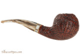 Mastro De Paja Cinque Terre 400 Tobacco Pipe - Bent Apple Right Side