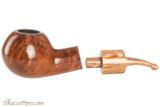 Mastro De Paja Pompei 500 Tobacco Pipe - Smooth Bent Author Apart