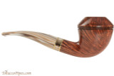 Mastro De Paja Cinque Terre 300 Tobacco Pipe - Smooth Bent Rhodesian Right Side