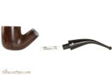 Peterson Dublin Filter 01 Tobacco Pipe - Fishtail Apart