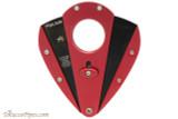 Xikar Xi1 Cigar Cutter - Red with Black Blades Open