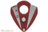 Xikar Xi2 Cigar Cutter - Bloodstone Red Open