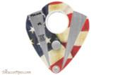 Xikar Xi2 Cigar Cutter - American Flag Open