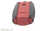 Xikar Turismo Cigar Lighter - Matte Red Top