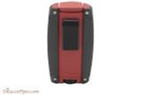 Xikar Turismo Cigar Lighter - Matte Red Back
