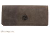 Rattray's Large Leather Roll Up Pouch - Brown