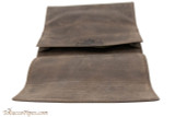 Rattray's Large Leather Roll Up Pouch - Brown Top